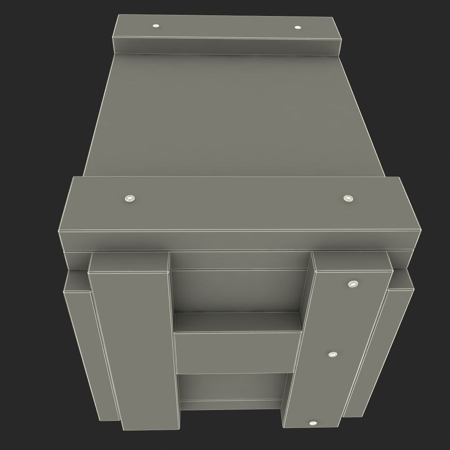 Ammo Box royalty-free 3d model - Preview no. 10