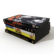 DVDs 6 3d model