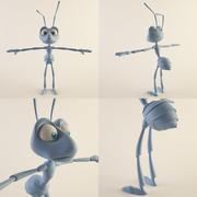 Fourmi (mâle) 3d model