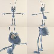 개미 (수컷) 3d model