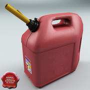 Gas Can V2 3d model