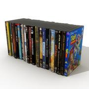 DVD-skivor 3 3d model