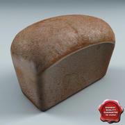 Un pan modelo 3d
