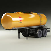 Cistern_Truck_ Trailer_01 3d model