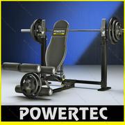 Sollevatore per gambe Powertec WB-LLA10 3d model