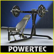 Powertec L-MP10 multi prensa modelo 3d
