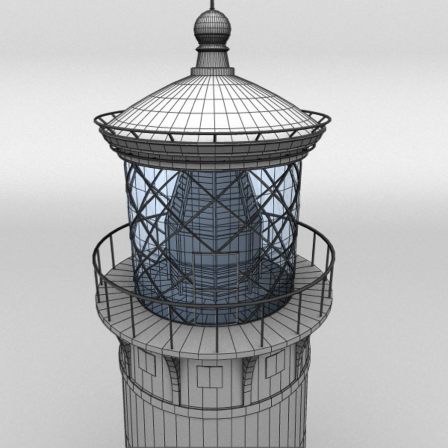 Lighthouse-Untextured royalty-free 3d model - Preview no. 6