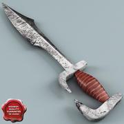 Espada espartana modelo 3d