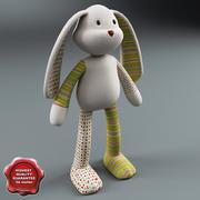 Toy Rabbit 3d model