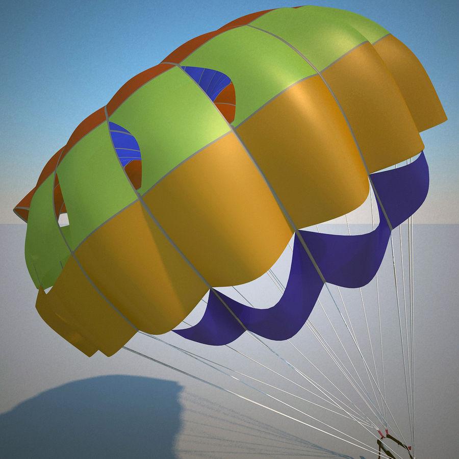 Parachute royalty-free 3d model - Preview no. 6