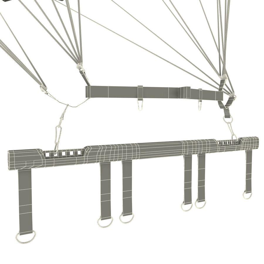 Parachute royalty-free 3d model - Preview no. 16