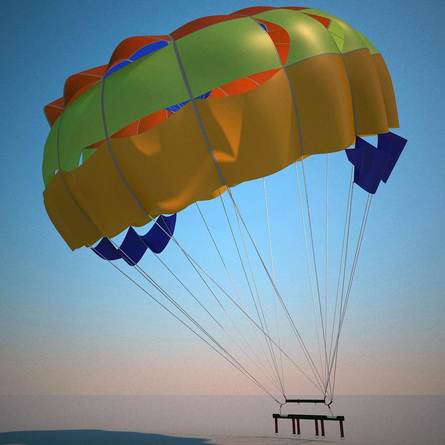 Parachute royalty-free 3d model - Preview no. 3