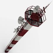 Башня аэропорта 3d model