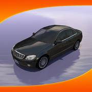 Car Mercedes C-Class 3d model