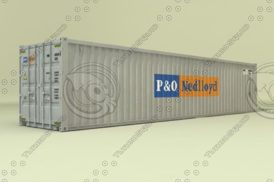 40 ft HD Containers collection 3D Model $39 -  max  3ds  obj - Free3D