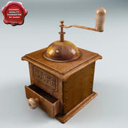 Old Coffee Mill 3d model