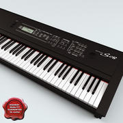 Synthesizer Yamaha S08 3d model