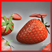 Strawberry fruit + BONUS 3d model