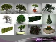 Colección D2 All trees modelo 3d