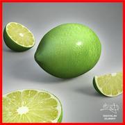 Lime fruit + BONUS 3d model