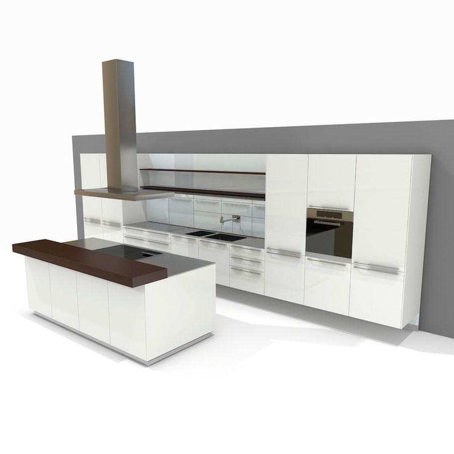Bulthaup Kitchen B3 (2) Royalty Free 3d Model   Preview No. 1