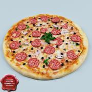 Пицца V1 3d model