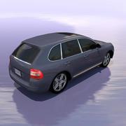 Автомобиль Порше Кайен 3d model