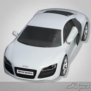 Автомобиль Audi R8 3d model