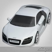 Car Audi R8 3d model