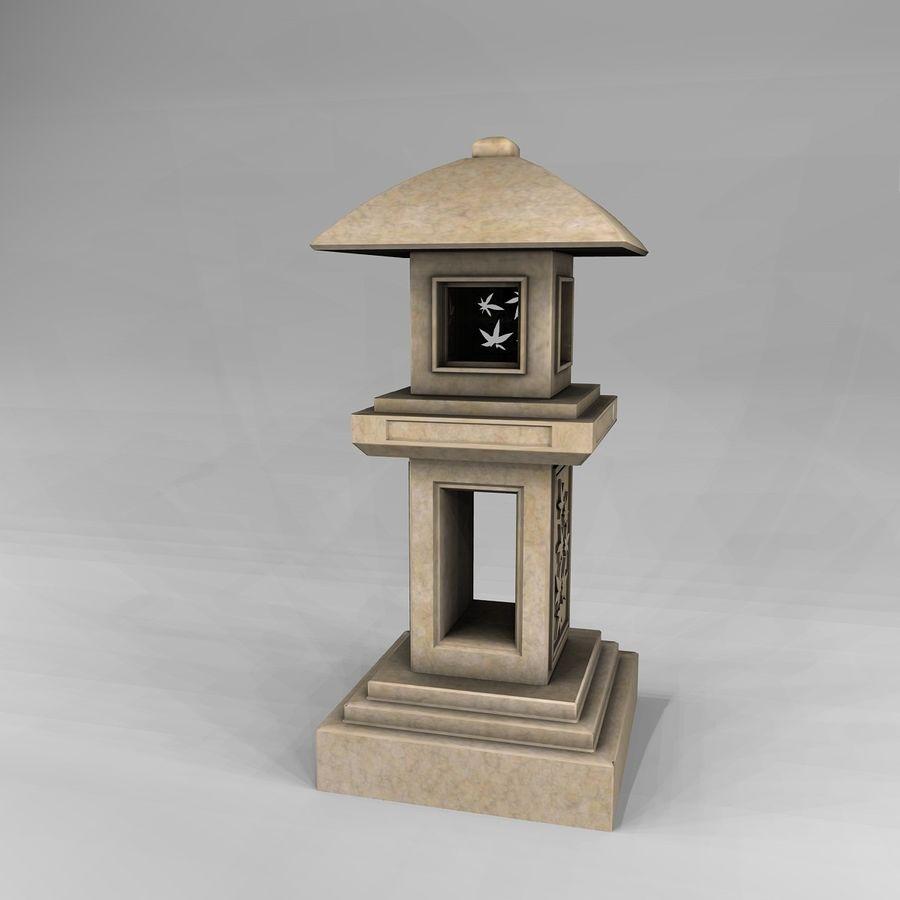 Tachi Gata Blatt royalty-free 3d model - Preview no. 1