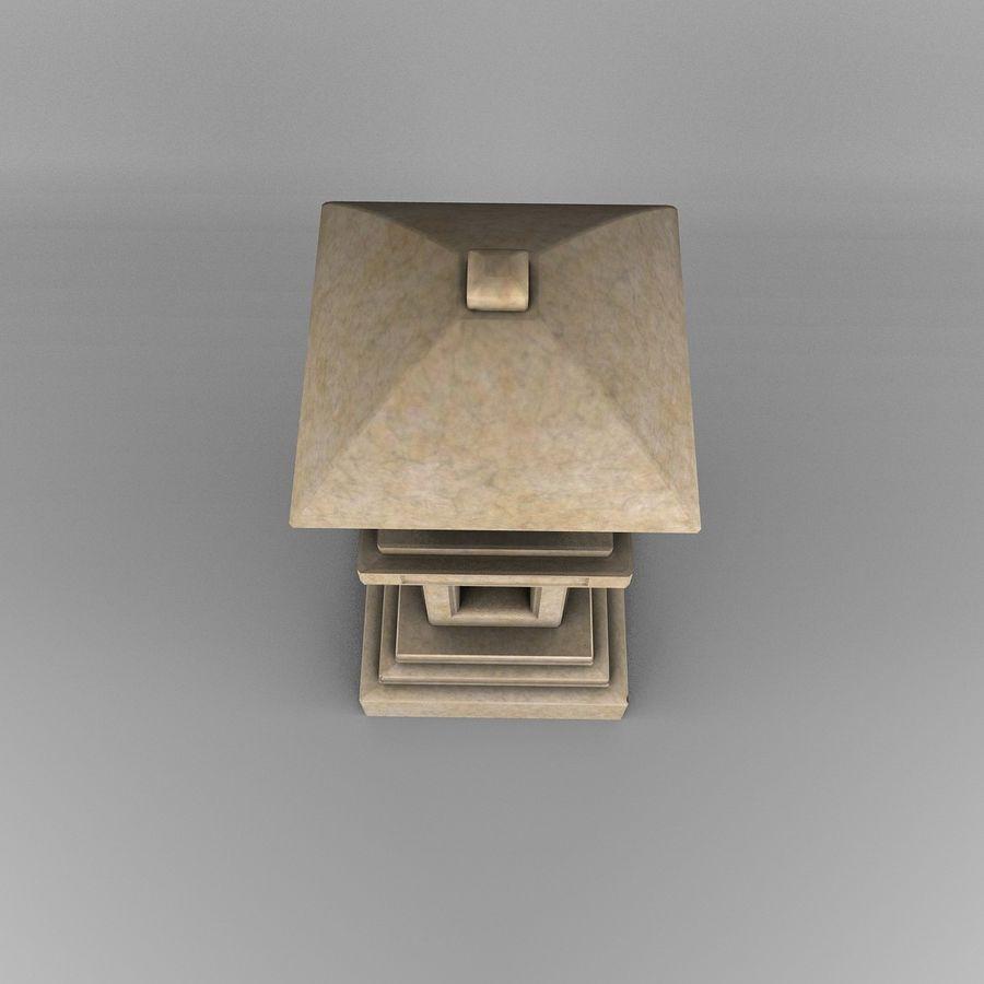 Tachi Gata Blatt royalty-free 3d model - Preview no. 6