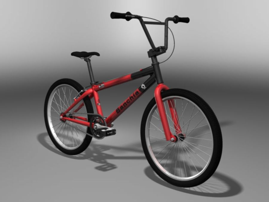 BMX Bicycle royalty-free 3d model - Preview no. 1