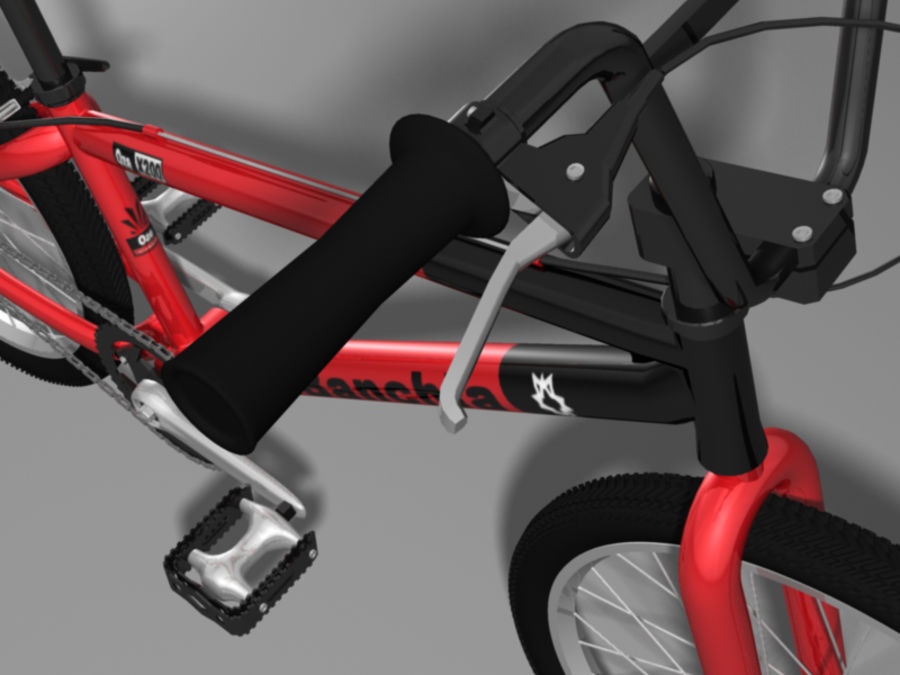 BMX Bicycle royalty-free 3d model - Preview no. 5