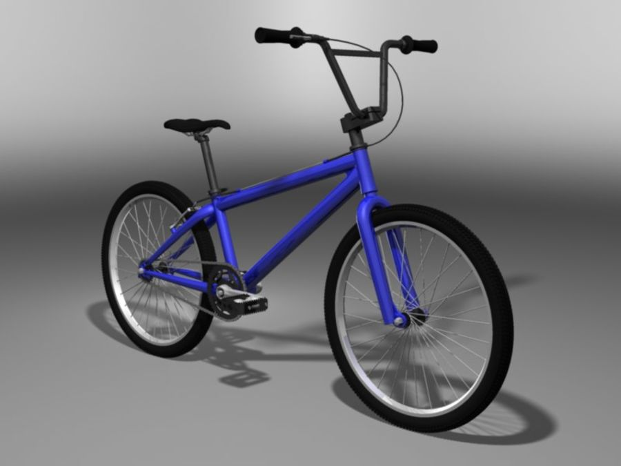 BMX Bicycle royalty-free 3d model - Preview no. 6