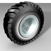 Neumático del camión modelo 3d