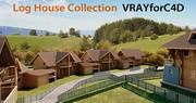 Casa de madeira - 160 3d model