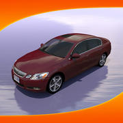 Автомобиль Lexus GS450 3d model