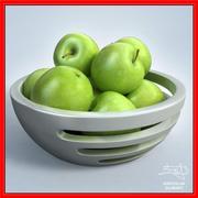 Apples in BOWL - design 3d model