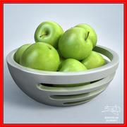 Äpfel im SCHÜSSEL - Design 3d model