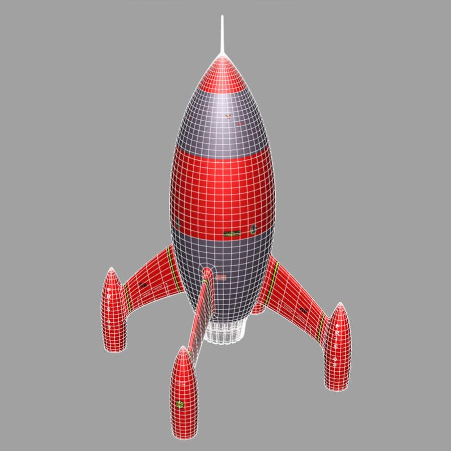 Rocket royalty-free 3d model - Preview no. 4