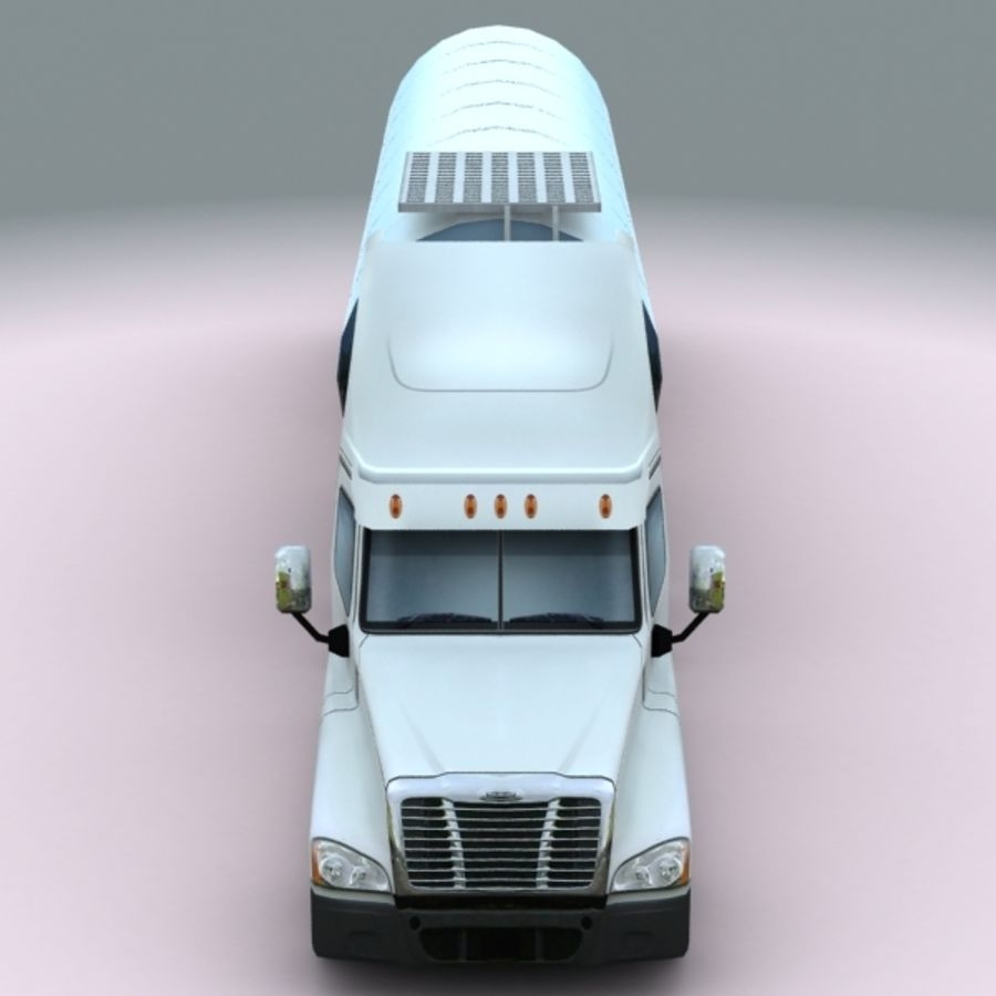 2011 Freightliner cascadia royalty-free 3d model - Preview no. 6
