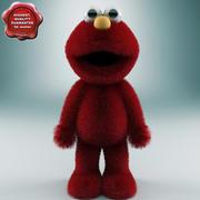 Toy Elmo 3d model
