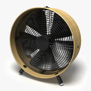Swizz Style Fan 3d model