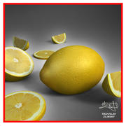 Lemon fruit + BONUS 3d model