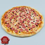 Pizza V2 3d model