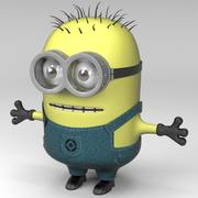 Despicable Me Minion Character 3d model