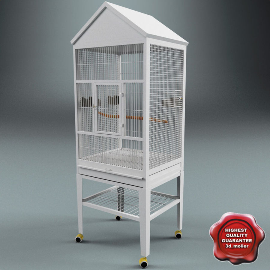 Bird Cage royalty-free 3d model - Preview no. 1