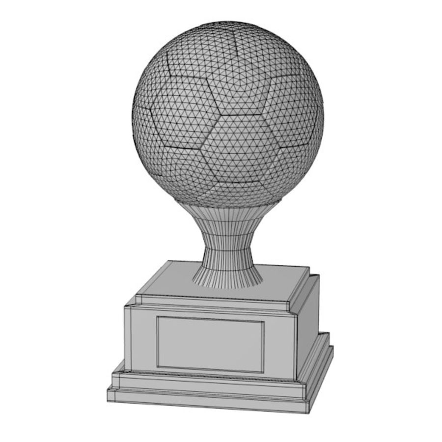 trophy14 royalty-free 3d model - Preview no. 2