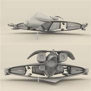 Śmigłowiec bojowy 3d model