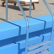 池梯 3d model